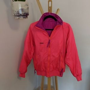 ❤️ dope vintage neon Columbia jacket